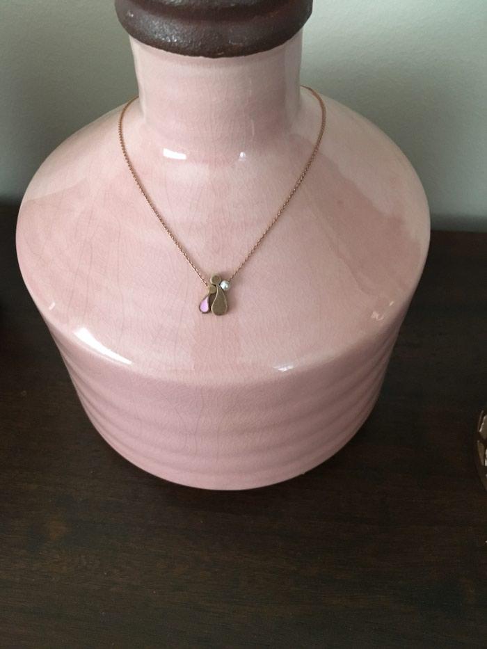 Κρεμαστό ροζ χρυσό Αννα-Μαρια Μαζαρακη