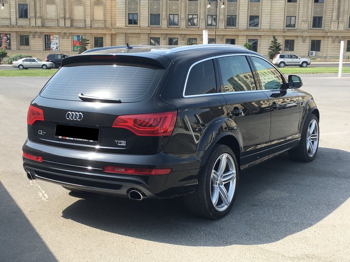 Audi Q7 2014. Photo 4