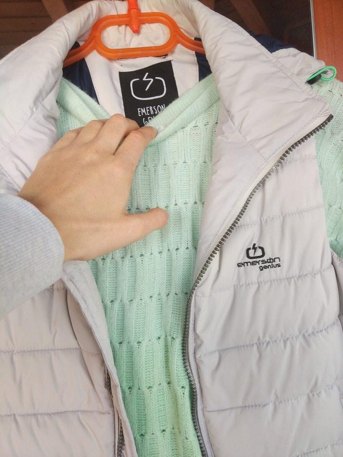 Γιλέκο Emerson+ ΔΟΡΟ μπλούζα . Original.  Size :ML. Photo 5