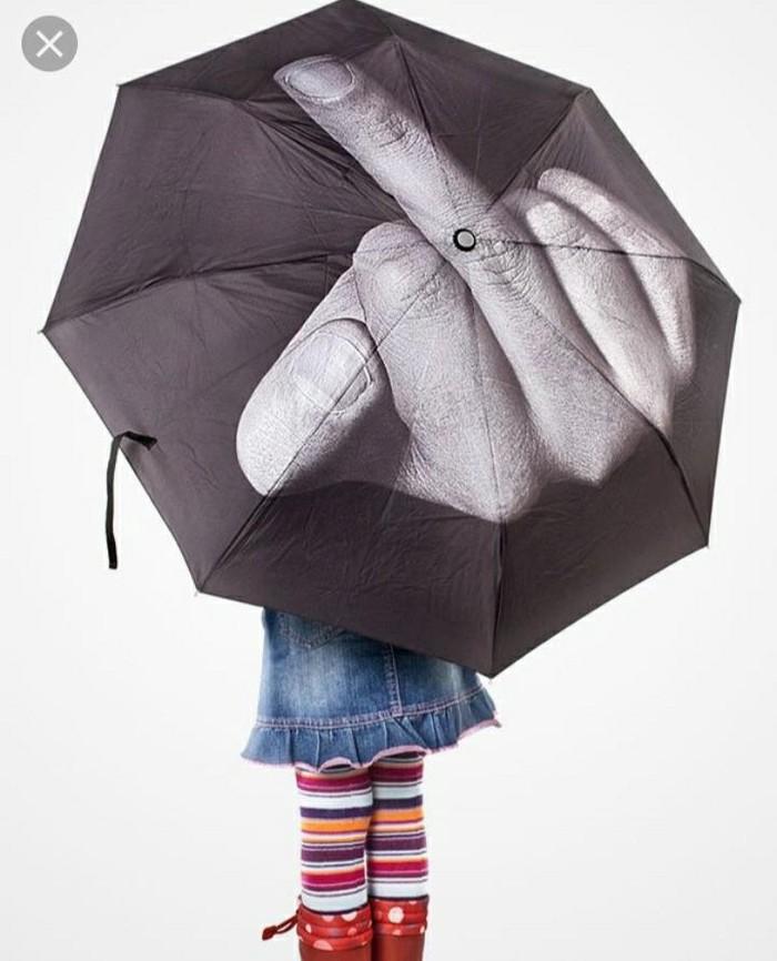 Зонт с приколом (новый). Photo 0