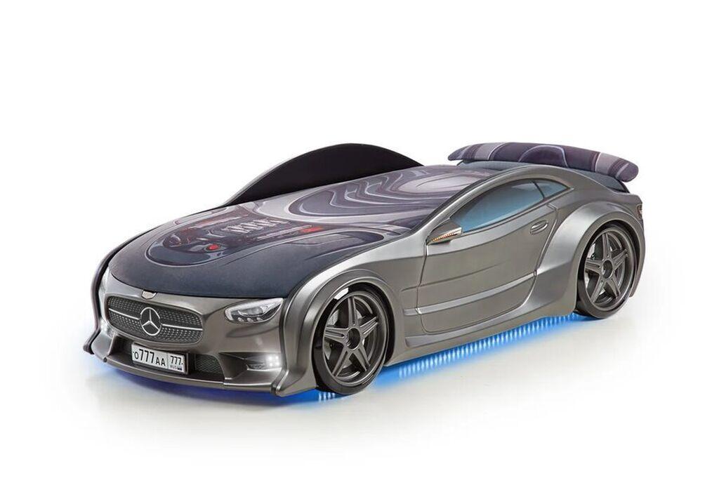 Детская кровать-машина  BMW & Mercedes-Benz NEO Graphite LIMITED