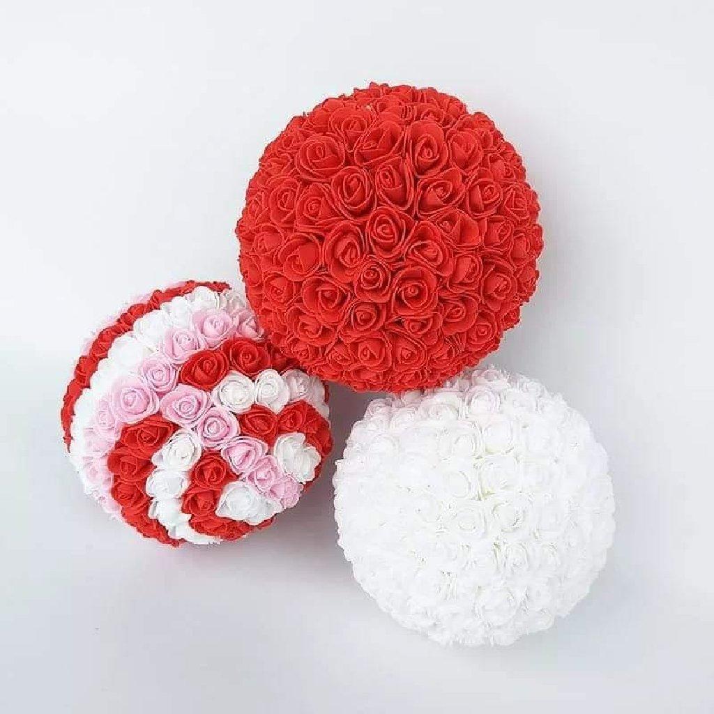 Izrada ukrasa od ružica u boji po vasem izboru