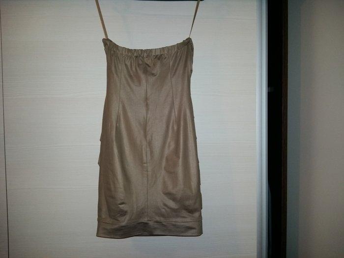 Top haljina sa cirkonima. Prati liniju tela, od rastegljivog je - Novi Sad
