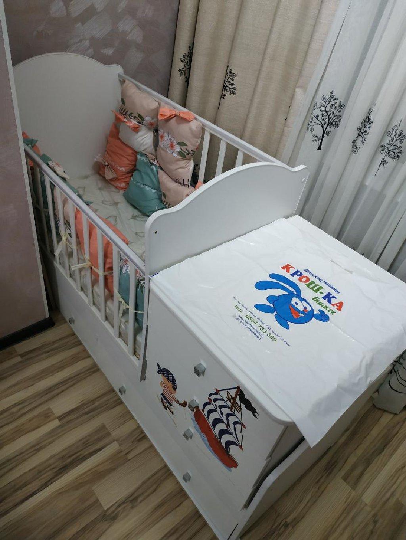 Кровать-трансформер до 5-6 лет
