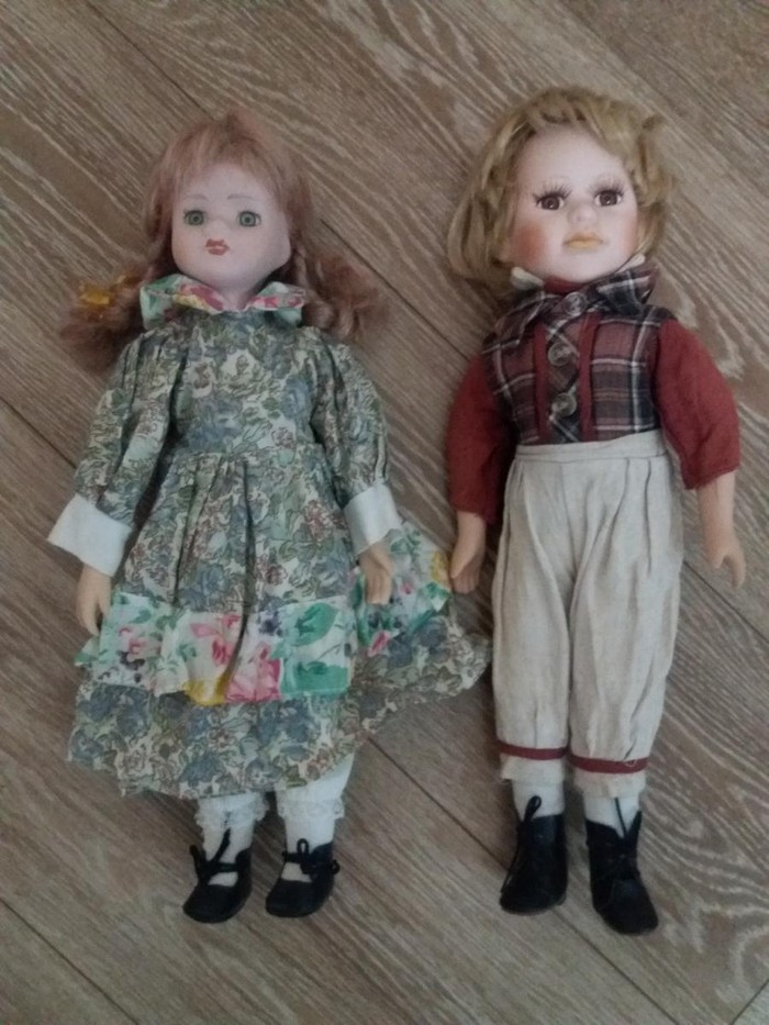 Keramicke lutke visine 45 cm