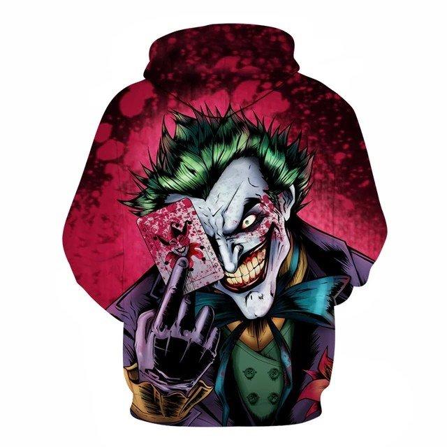 Joker φούτερ 100% καινούργιο. Photo 0