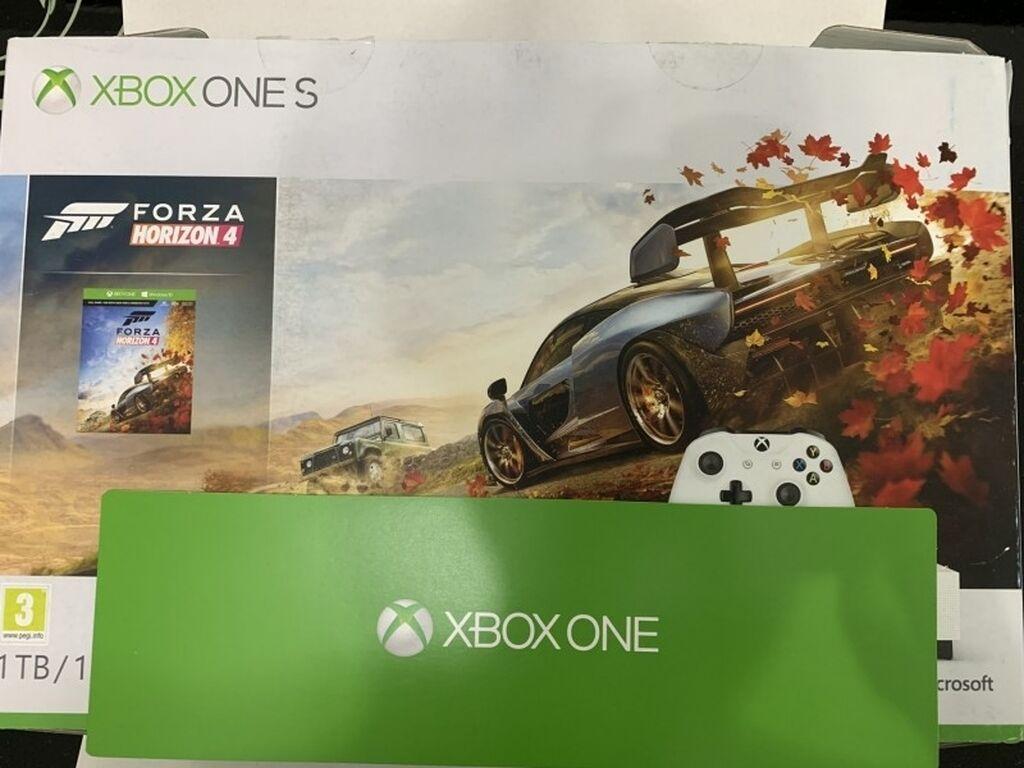 Xbox One - Bor: XBOX ONE S 1TBKonzola nova ,samo probana i instalirana igrica.