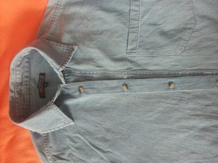 38d3a03845c Токмок. Мужская джинсовая рубашка за 200 KGS в Токмаке  Мужские ...