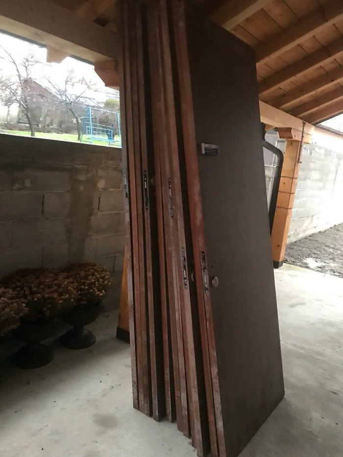 Extra vrata kao nova 11kom 240cm×83cm×4cm uvoz iz Francuske. Photo 0
