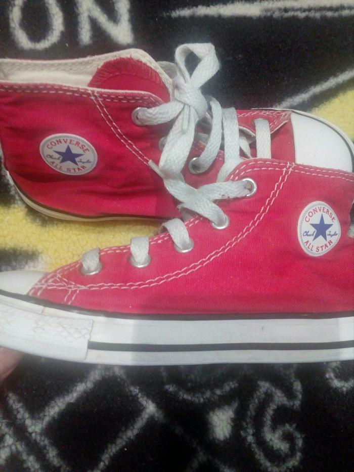 Converse all star κοκκινα μποτακια νουμερο 26 16.5 εκατοστα.. Photo 3