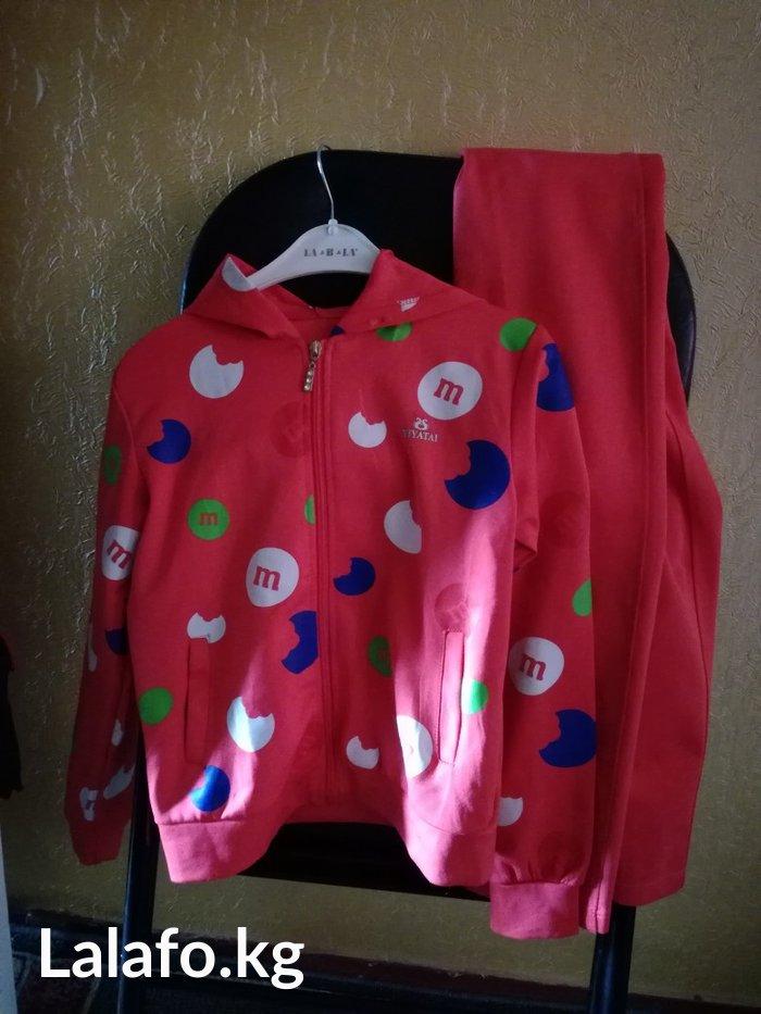 Спортивный костюм. отличное качество,для девочки 6_8 лет в Бишкек