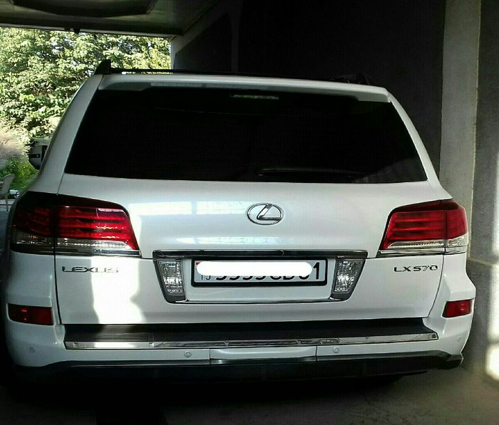 Lexus LX 2014. Photo 5