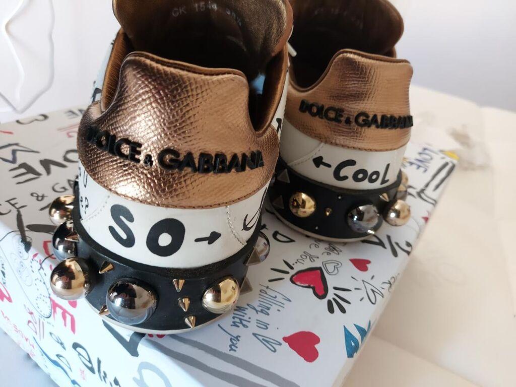 Παπούτσια DOLCE & GABBANA,φορεμένα μόνο μια φορά ,αγορασμένα από Gallerie Lafayette Paris, δερμάτινα, πρωτότυπα, αυθεντικά με δεκτό κάθε έλεγχο