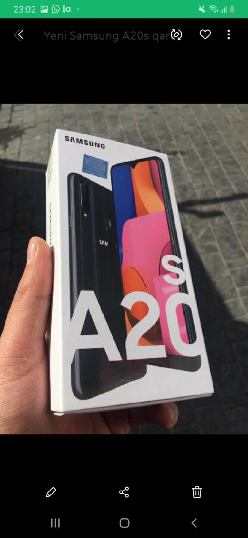 Yeni Samsung A20s 128 GB