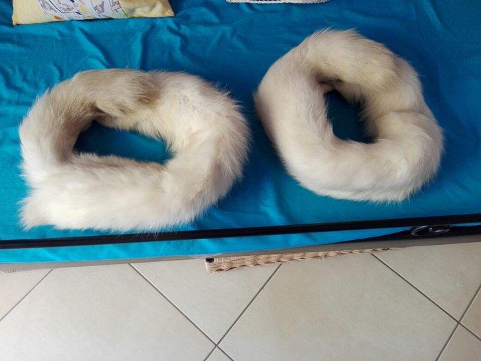 80 ευρώ το ζευγάρι. 6 γούνινοι γιακαδες (4 ρενάρ και 2 βιζόν). Photo 1