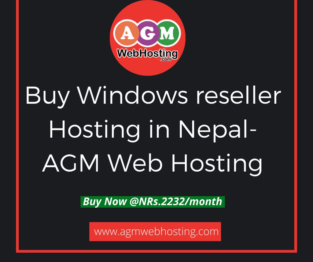 How Much Does It Cost For Window Reseller Hosting in Nepal?