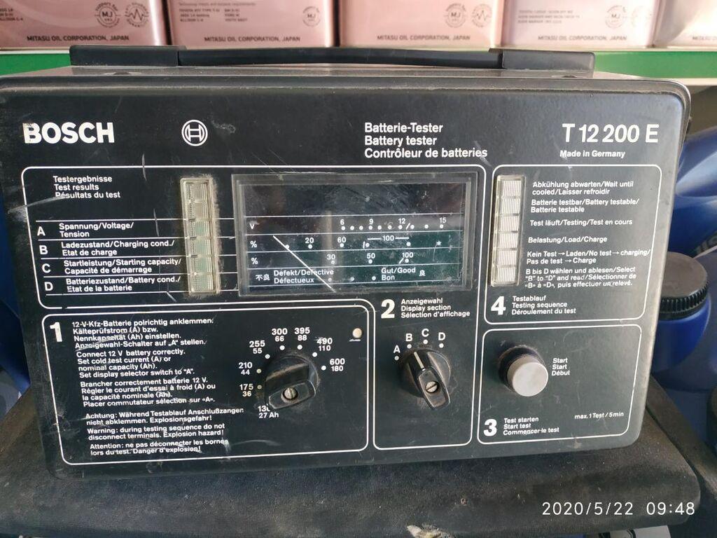 Тестер состояния аккумуляторов