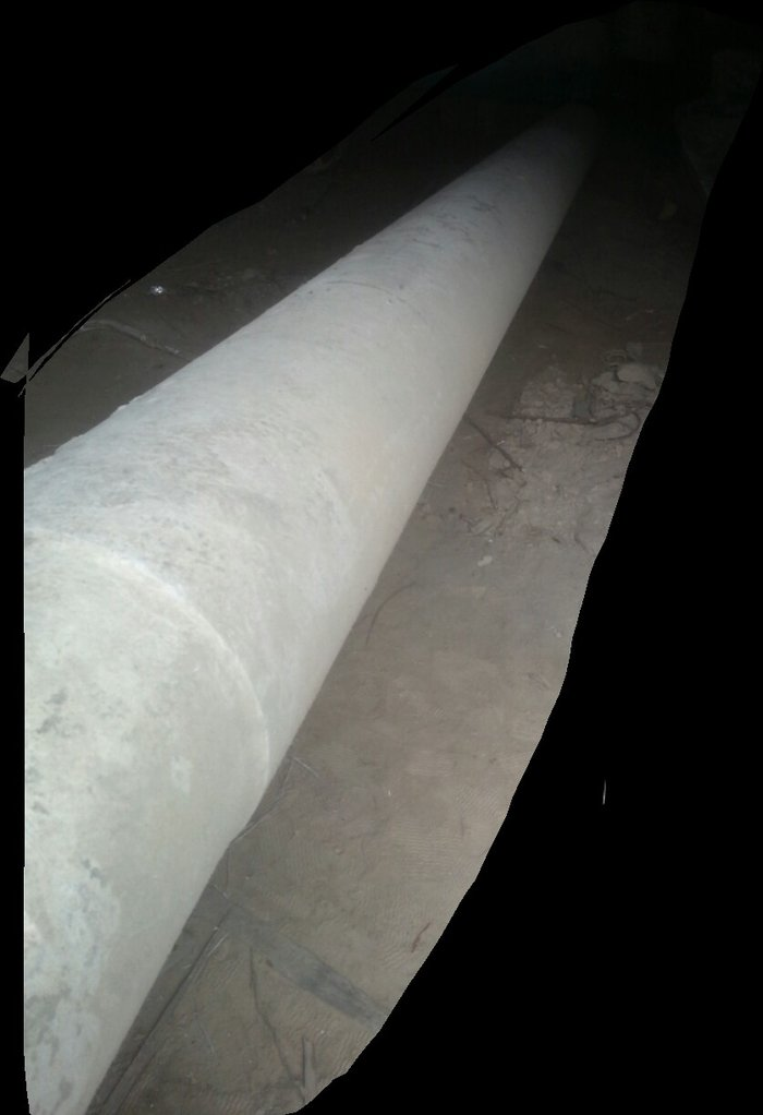 Труба асбестоцементная, длина 4метра, диаметр 250,б/у в Душанбе