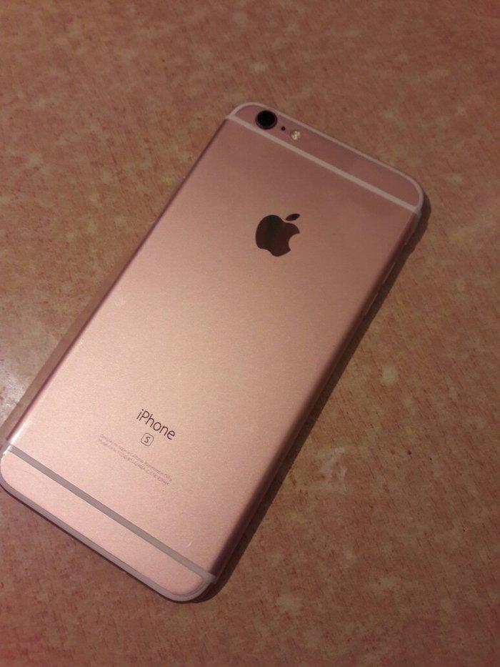 Продаю Айфон 6s plus розового цвета. в Бишкек