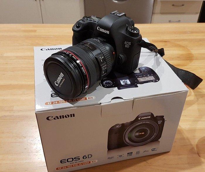 Canon EOS 6D + EF 24-105mm F4L IS USM Lens. in Kathmandu