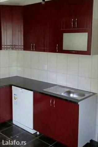 Kuhinje od medijapana. Standardnih dimenzija 2m*2m, sa koritom za pran - Jagodina