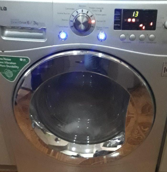 Bakı şəhərində Öndən Avtomat Washing Machine LG 6 kq.
