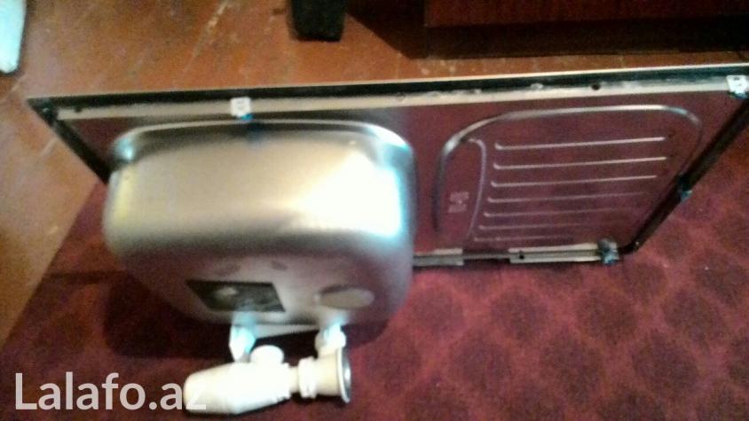 Продается кухонная раковина, почти не использованная, нержавейка.. Photo 1
