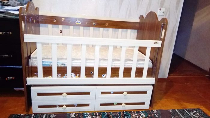 Детская кроватка. Photo 1