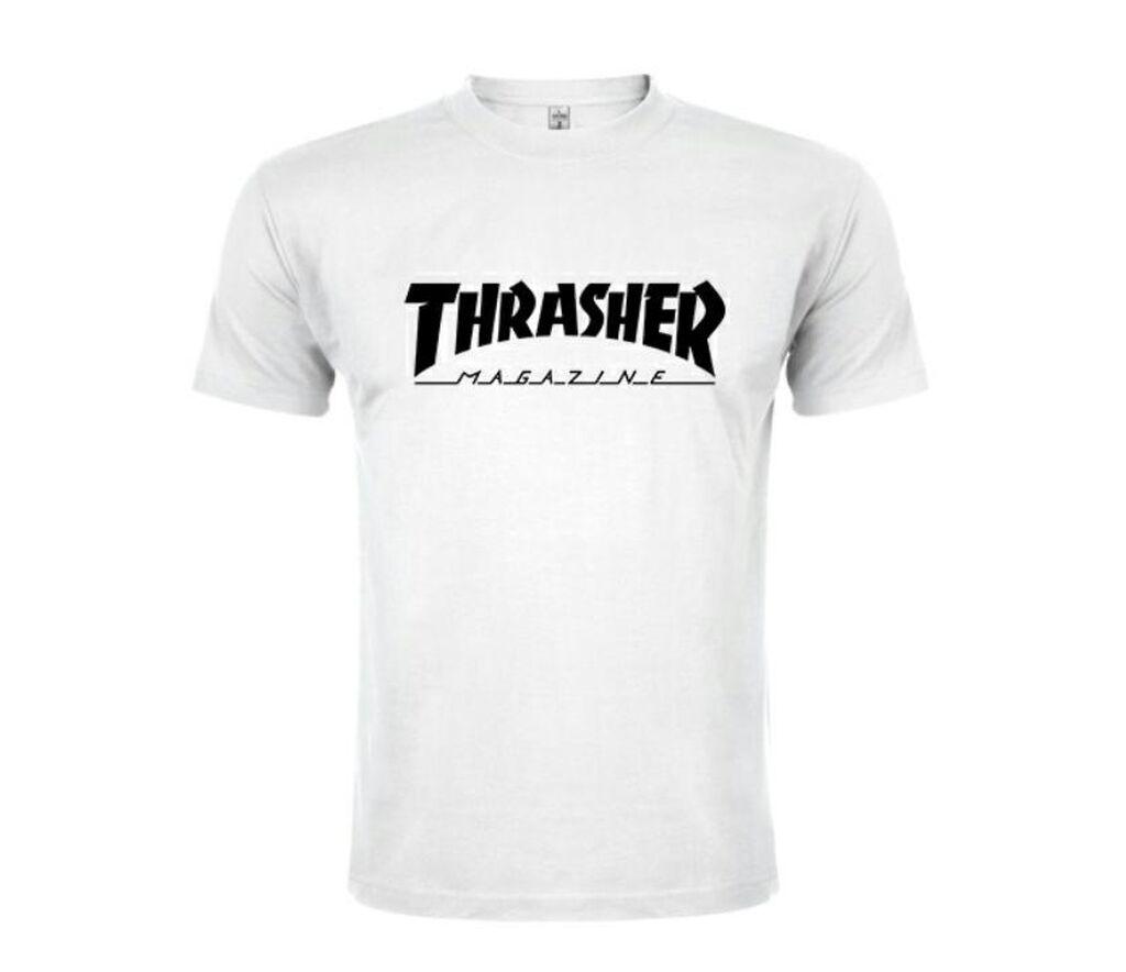 Thrasher Skateboard Magazine Majica (premium)
