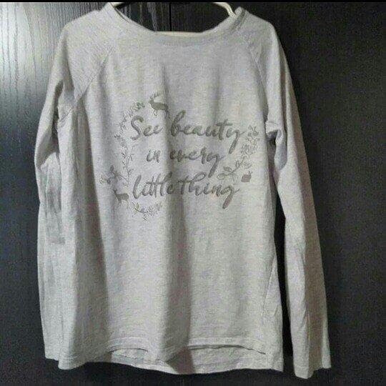 Siva bluza vel M bez ostecenja - Prokuplje