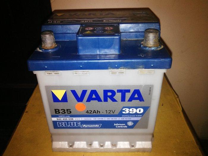 Na prodaju akumulator VARTA BLUE dynamic 42Ah. (EN) 390 (Desni plus) - Beograd