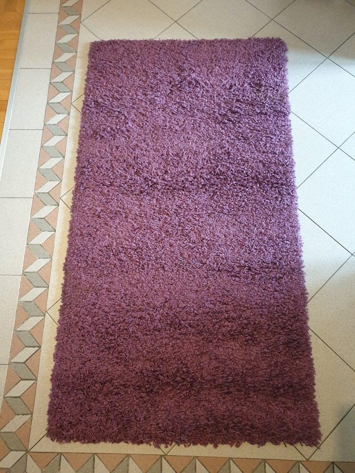 Cupavi tepih,ljubicasti,150x80cm,kao nov.. Photo 1