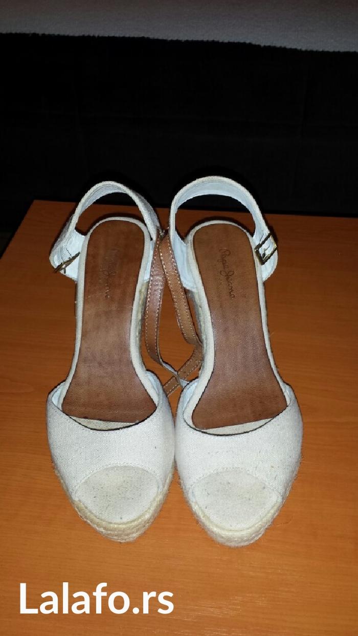 """Sandale na platformu """"Pepe Jeans"""", br. 39. Nošene par puta, očuvane, b - Beograd"""