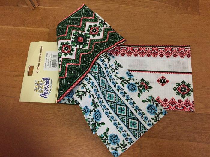 Комплект с двух вафельных полотенец.45 на 75см.Украина.. Photo 1