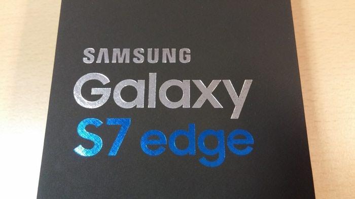 Samsung Galaxy S7 edge new. Photo 2
