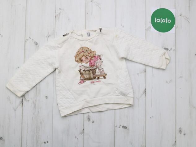 Детская кофта с принтом Mayoral 12 месяцев