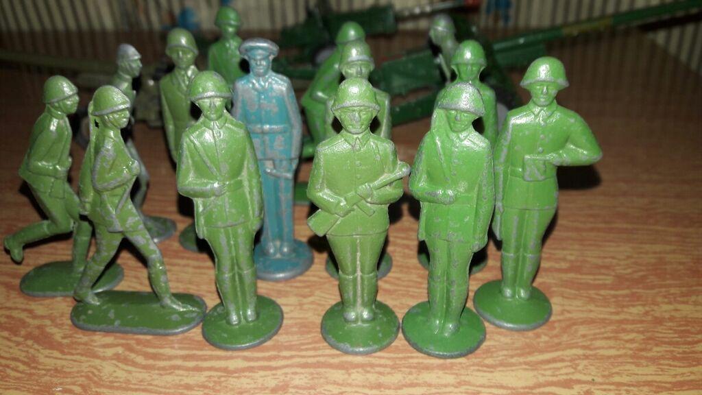 Солдатики советские оловянные. 60 -х годов выпуска: Солдатики советские оловянные. 60 -х годов выпуска