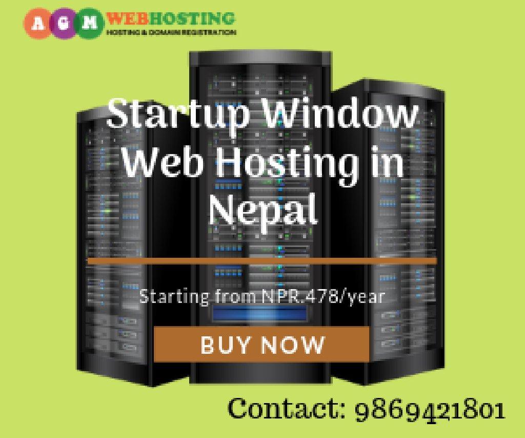 Best StartUp Window Hosting Provider Company in Nepal – AGM Web Hosting