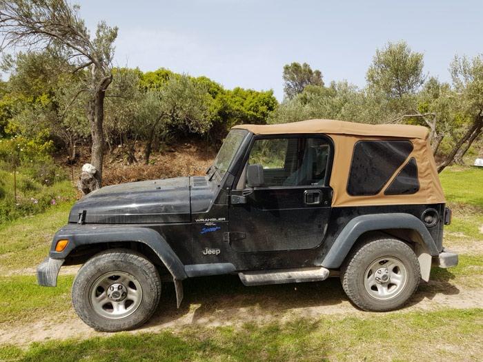 Jeep Wrangler 1997. Photo 1