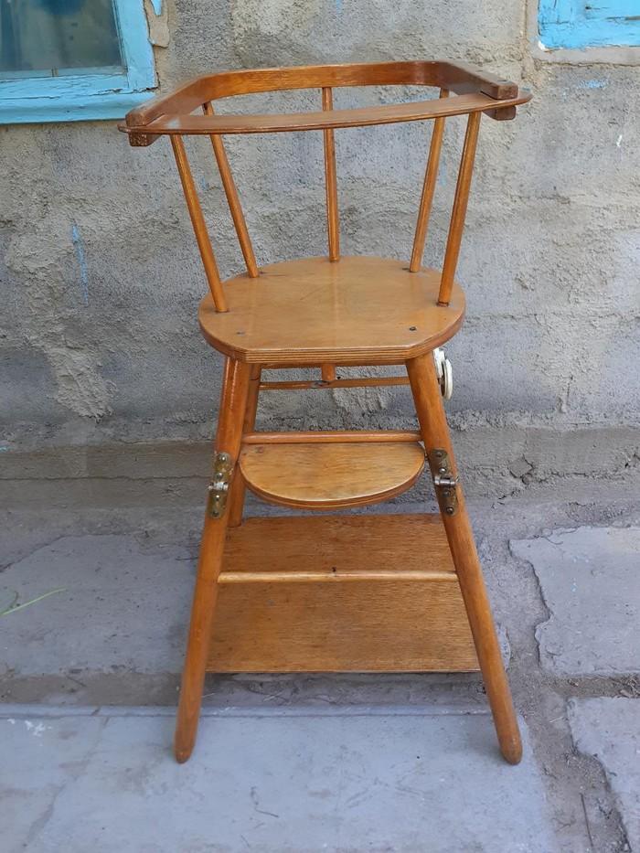 Детский  стульчик трансформер, для кормления . Photo 0