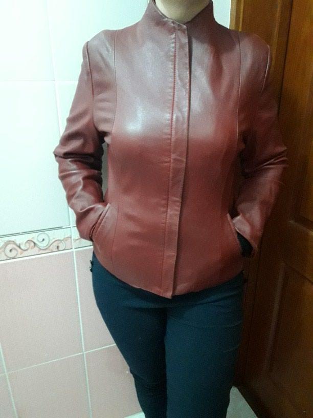 Кожанная куртка. Осенне - весенняя, в хорошем состоянии. в Душанбе
