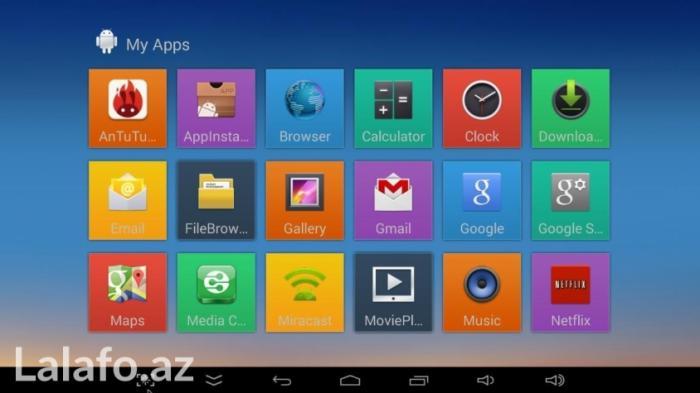 Bakı şəhərində Android tv box+win10 mini pc