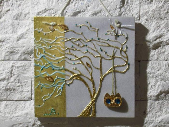 ΧΕΙΡΟΠΟΙΗΤΑ μοντέρνα δέντρα πάνω σε. Photo 1