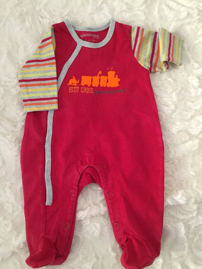 3 babygrows. 0-3 months. Very good condition. . Photo 2