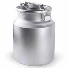 Bakı şəhərində Фляга-бидон алюминиевая 10 литров. Aliminum flaqa buton. 10 litirlik.