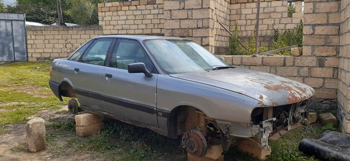 Audi 80 1990. Photo 1