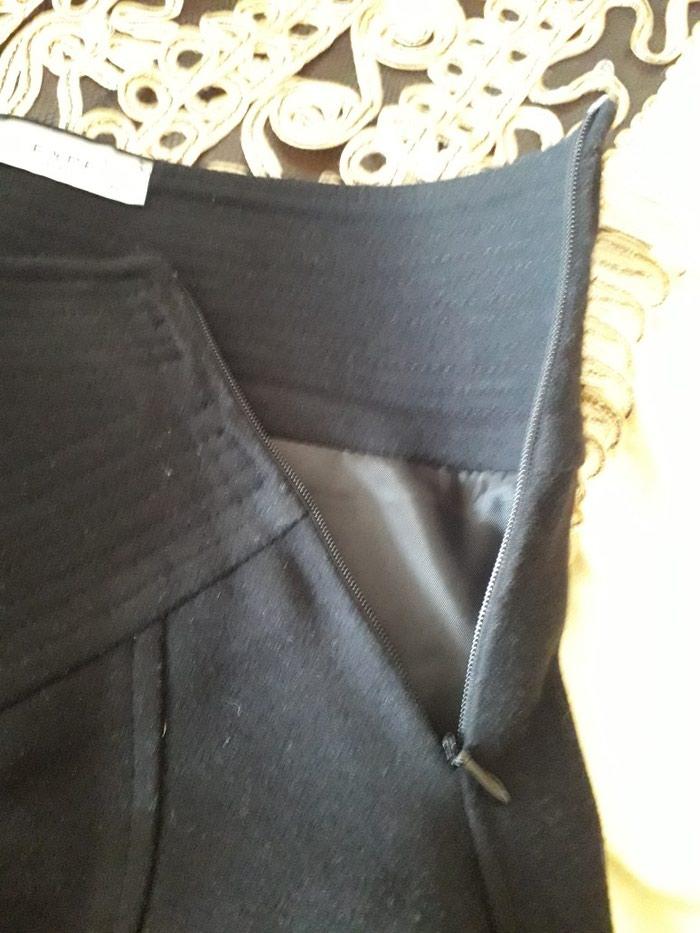Черная юбка как новая. Турция. Размер 38. Длина юбки 61 см.. Photo 3
