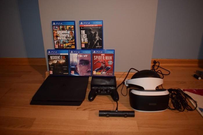PS4 με vr και παιχνίδια σε Κατερίνη