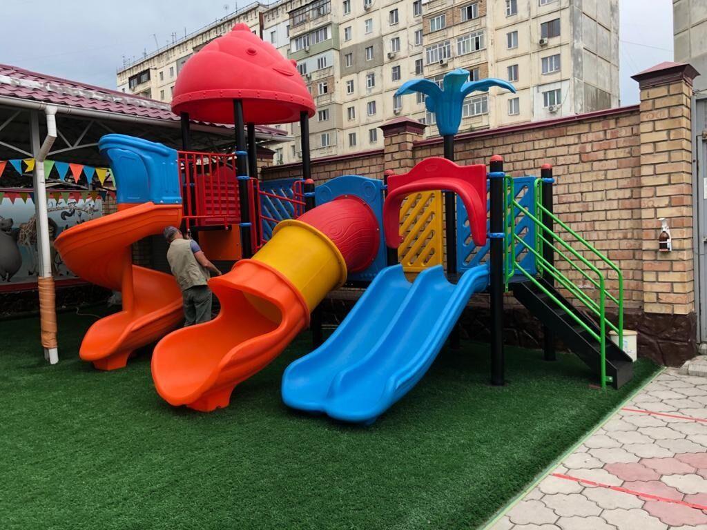 Детская площадка, Бишкек!Наши игровые комплексы полностью | Объявление создано 02 Август 2021 08:17:39: Детская площадка, Бишкек!Наши игровые комплексы полностью