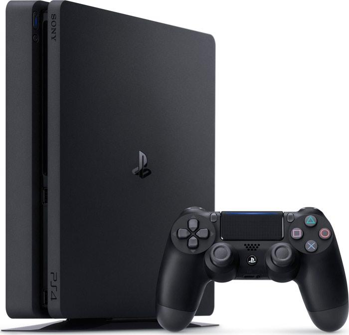 Playstation 4 slim 1tb + 2 μοχλούς + fifa 18.. Photo 0